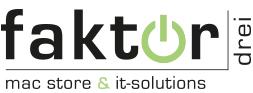 faktordrei GmbH MacStore und IT-Solutions logo
