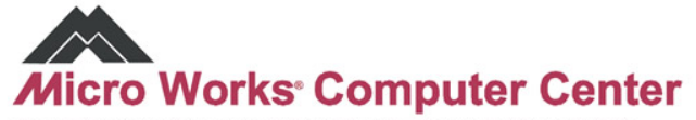 Micro Works Computer Center logo
