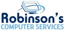 Robinson's Computer Services logo