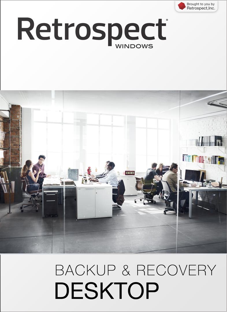 Retrospect for windows desktop front