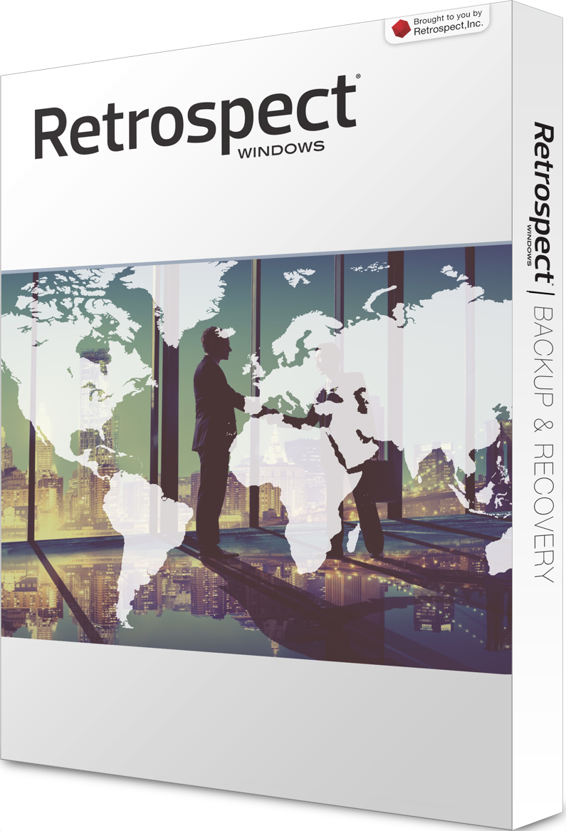 Retrospect for windows single server left