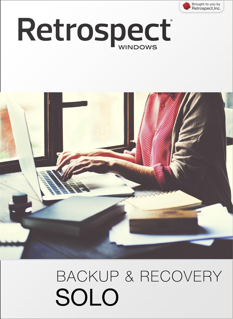 Retrospect for windows solo front
