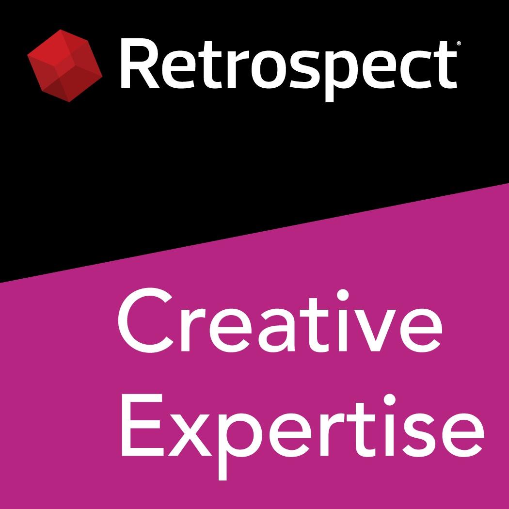 Retrospect expertise logo creative 1050x1050