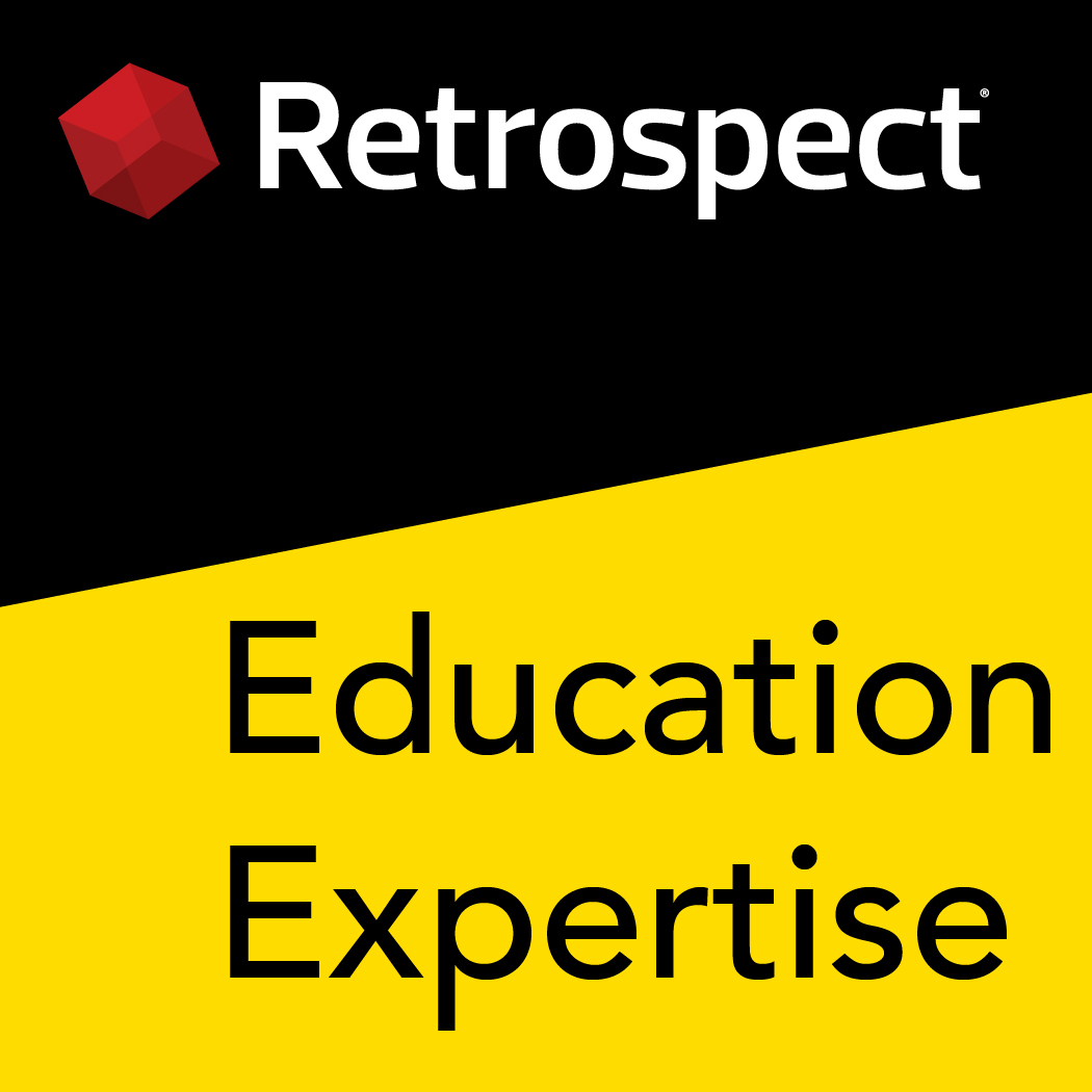 Retrospect expertise logo education 1050x1050