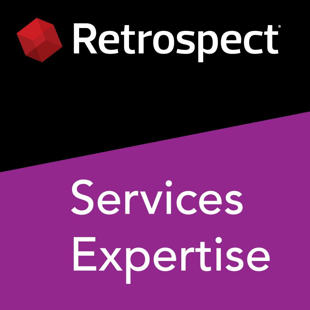Retrospect expertise logo services 1050x1050