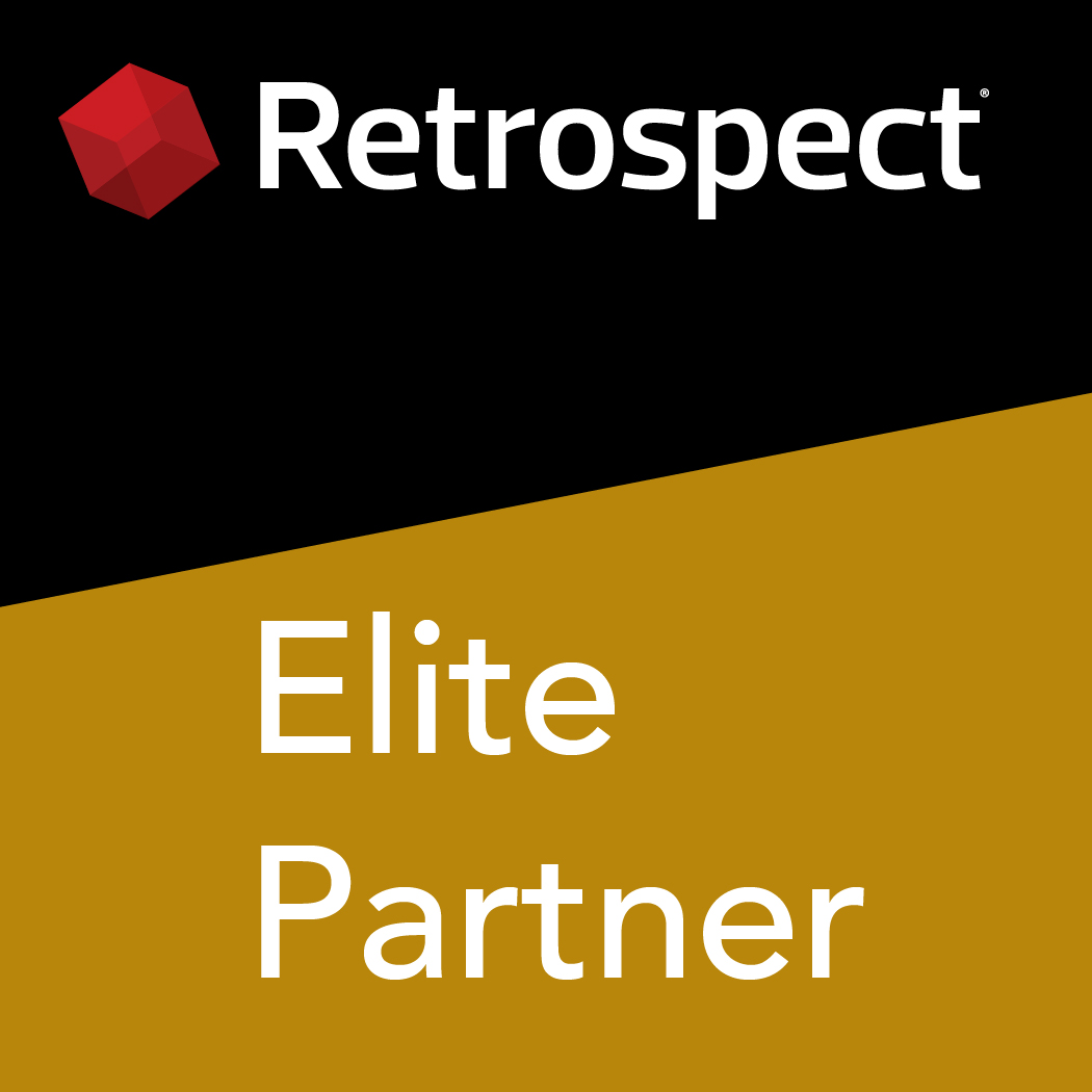 Retrospect partner logo de elite 1050x1050