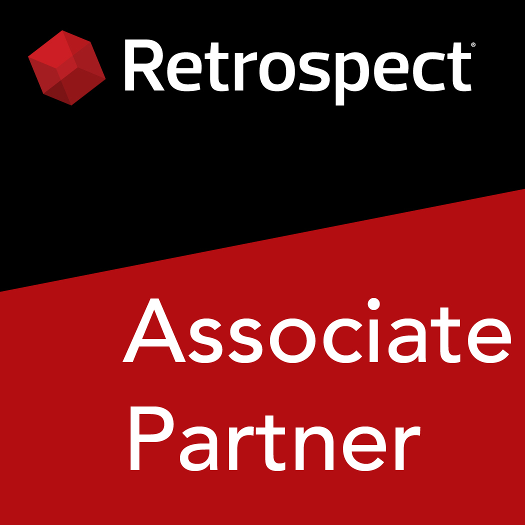 Retrospect partner logo en associate 1050x1050