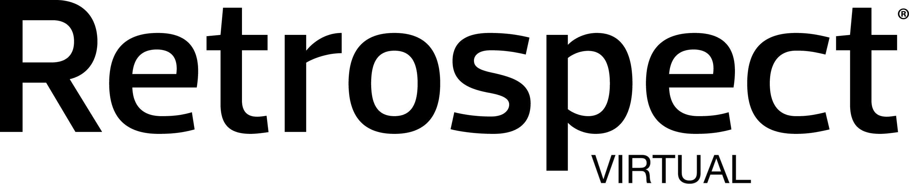 Retrospect product logo virtual