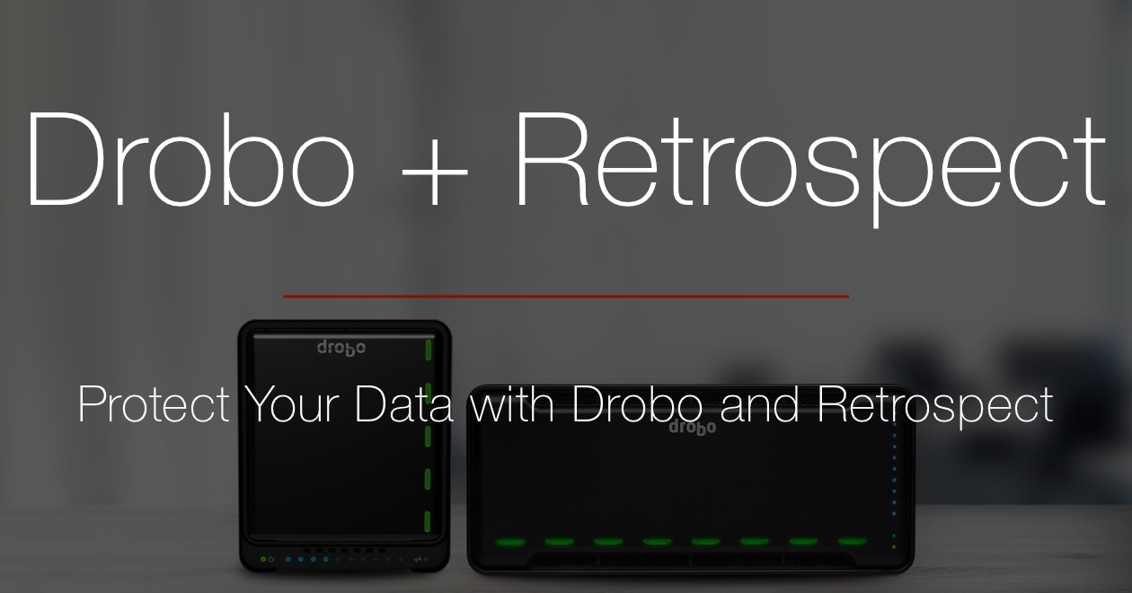 Blog drobo and retrospect