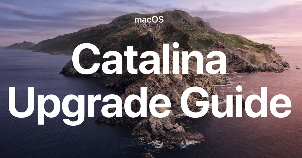 Macos catalina upgrade guide