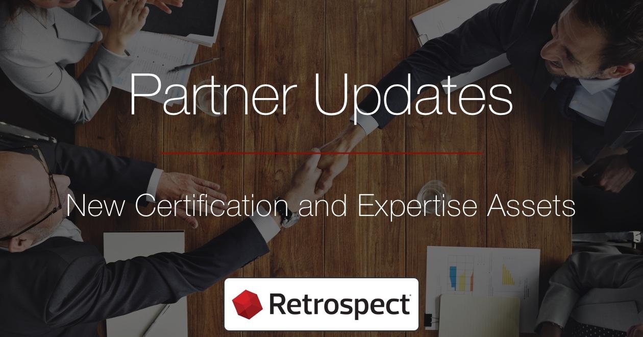 Partner updates logos and certificates