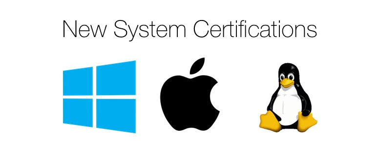 System certifications 778