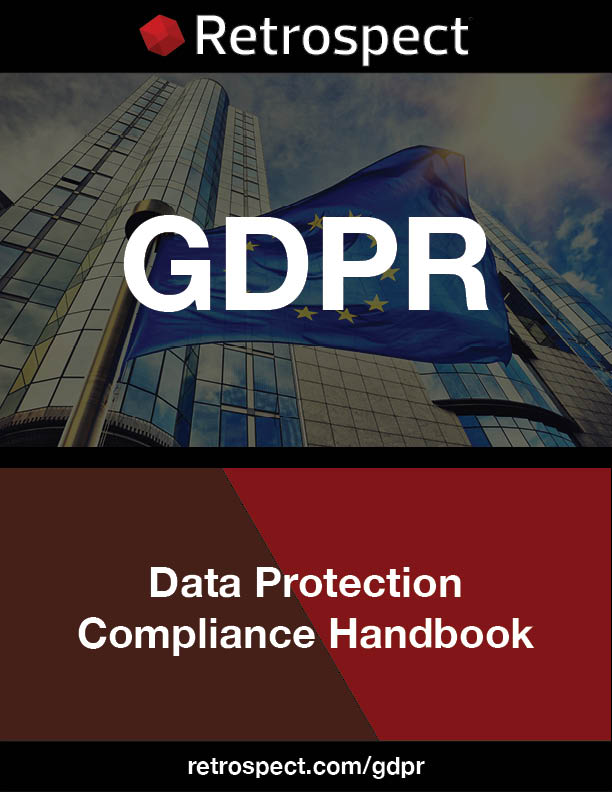 Gdpr data protection compliance handbook by retrospect en