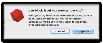 Blib mac upgrade