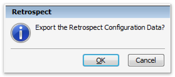 Configs win export2 dialog