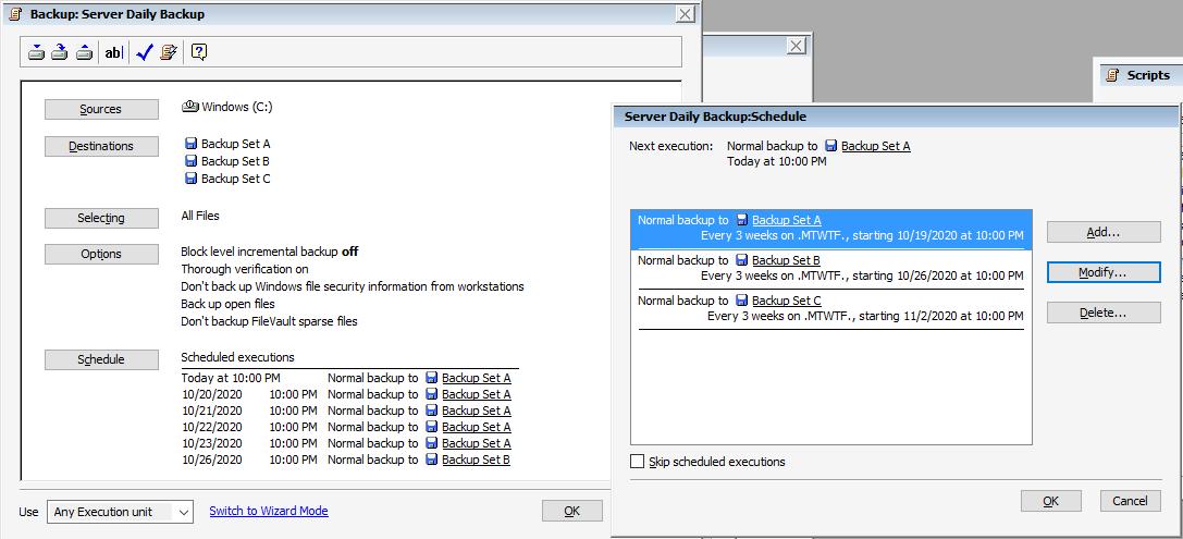 Dell rd1000 serverbackup