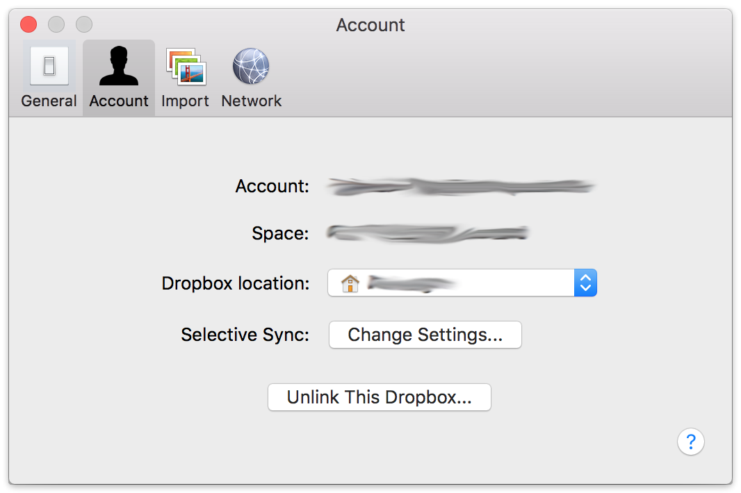 Dropbox preferences.mac
