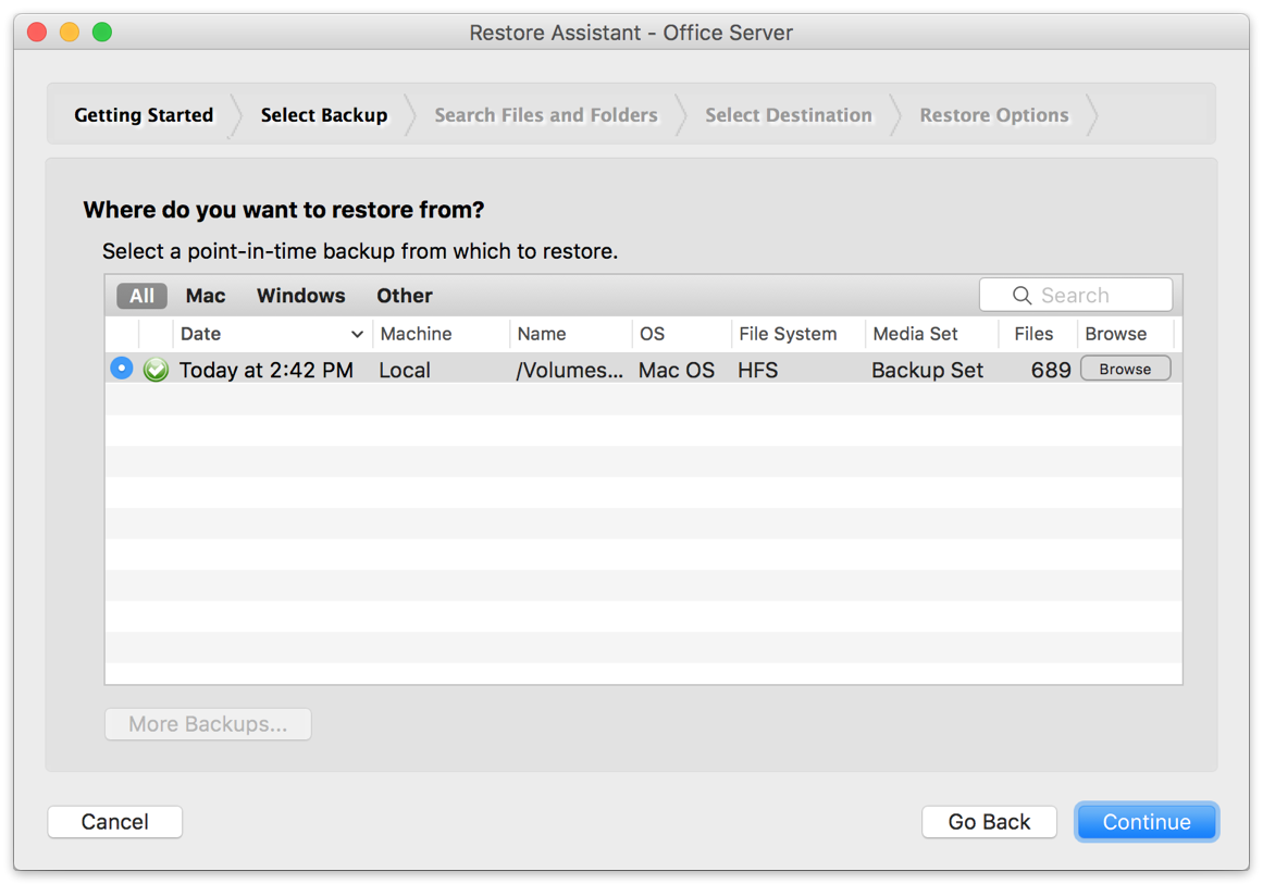 Kb application backup microsoft office mac restore