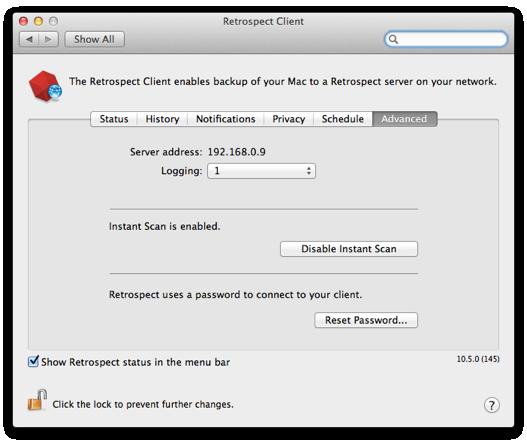 Kb mac client prefs advanced