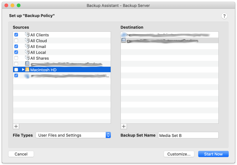 Mac cloud volumes generic script