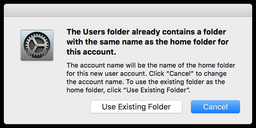 System preferences same folder