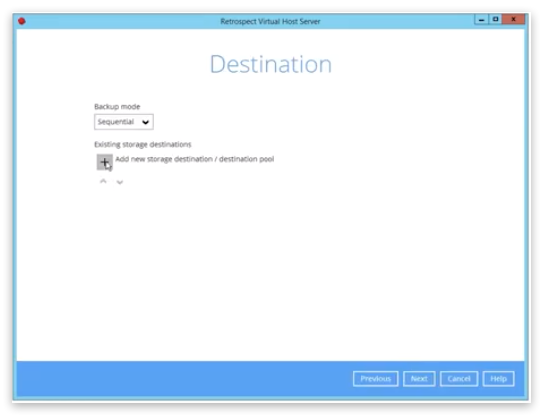 Virtual demo 12 destination
