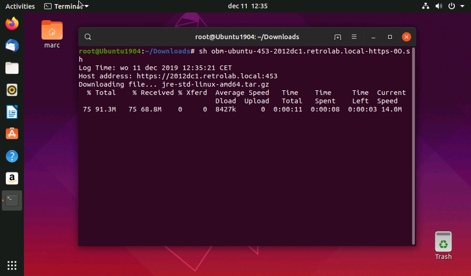 Virtual host server ubuntu6