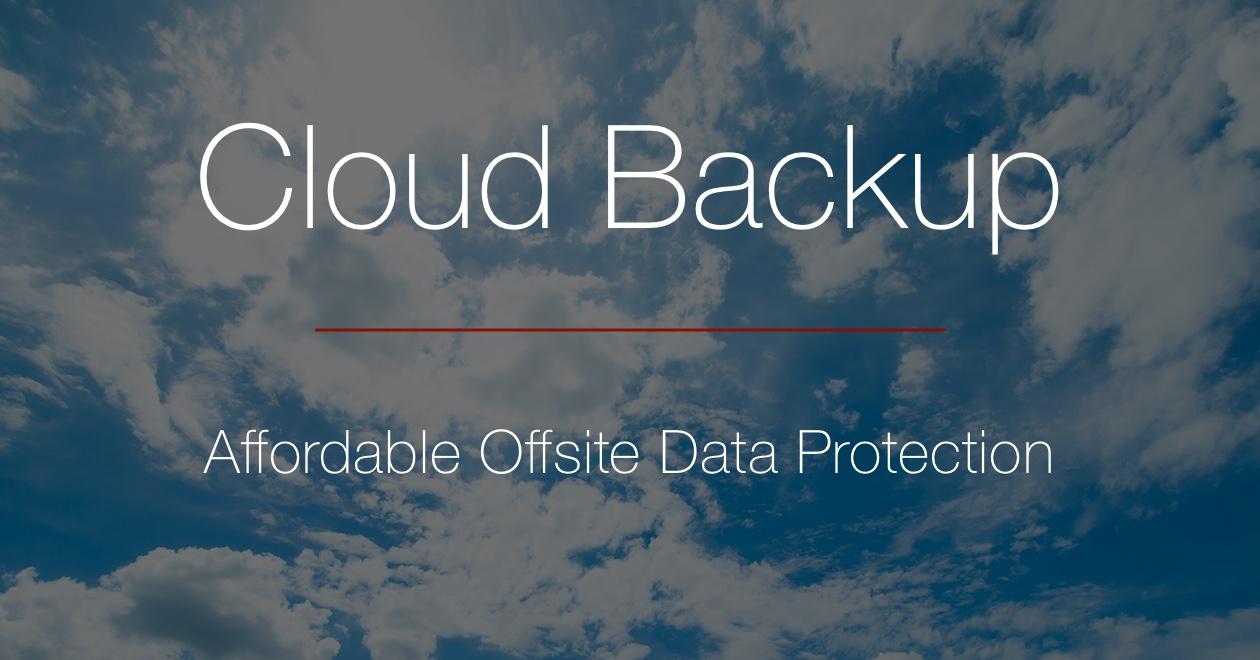 Retrospect: Cloud Backup