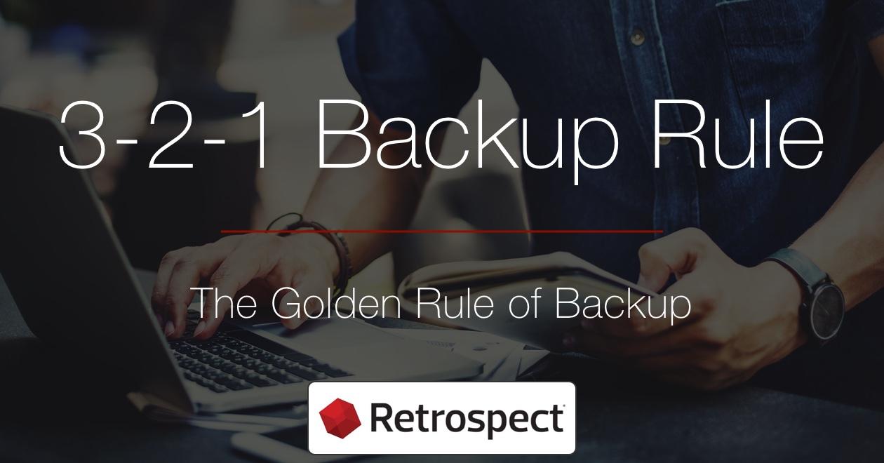 Social media 3 2 1 backup rule en