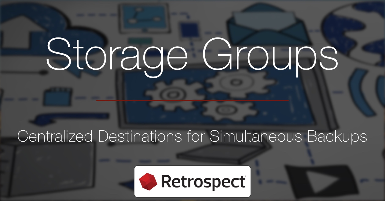 Social media storagegroups en