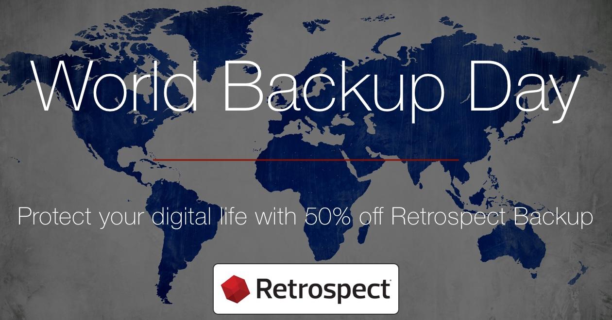 Social media world backup day en