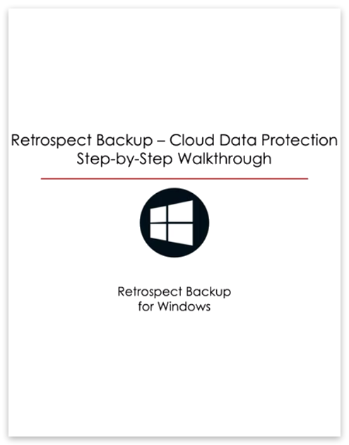 Video cloud data protection win
