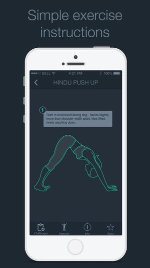 Screenshot 30 Day Push Up Challenge Free on iPhone