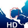 Aqua Map Alabama to Texas HD