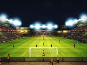 Screenshot Striker Soccer Euro 2012: dominate Europe with your team on iPad