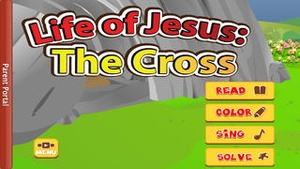 Screenshot Life of Jesus: The Cross Pro on iPhone