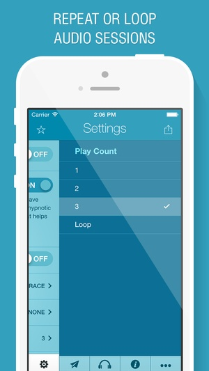 Screenshot End Anxiety Hypnosis on iPhone
