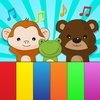 Animal sounds kids piano