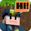 Block Chat Multiplayer with skins exporter for minecraft