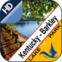 Kentucky Lake and Lake Barkley offline chart for lake and park trails