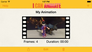 Screenshot I Can Animate on iPhone