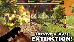 Screenshot Sabertooth Tiger Simulator on iPhone