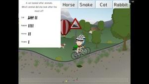 Screenshot Sumdog on iPhone