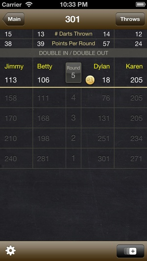 Screenshot Dart Meister on iPhone