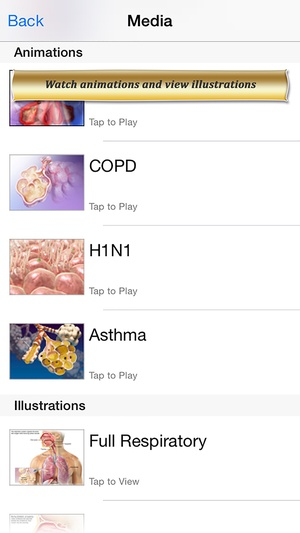 Screenshot Respiratory Anatomy Atlas: Essential Reference for Students and Healthcare Professionals on iPhone