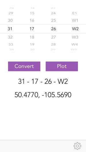 Screenshot Prairie Locator Mobile on iPhone