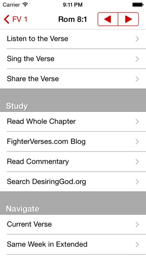 Screenshot Fighter Verses on iPhone