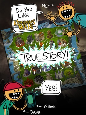 Screenshot Kingdoms at War on iPad