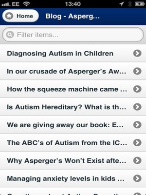 Screenshot The Aspergers Test on iPad