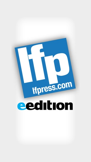 Screenshot London Free Press eEdition on iPhone
